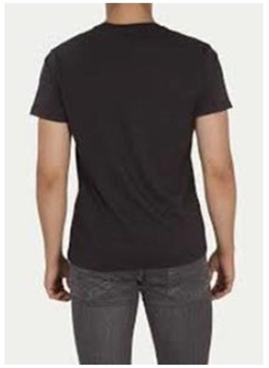 Levi's® Levis Erkek Siyah Bisiklet Yaka T-Shirt Siyah
